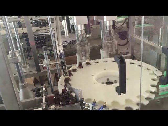 tappatrice automatica ad alta velocità di prezzi di fabbrica per il tappo di bottiglia rotante
