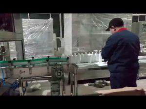 macchina per imbottigliamento a base di alcool e gel per sapone a mano