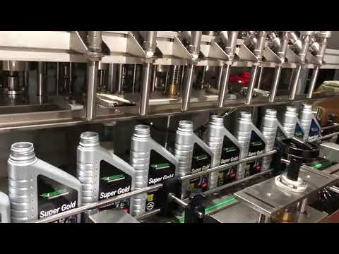linea completa dell'attrezzatura di riempimento dell'olio di lubrificante dell'olio del pistone del pistone automatico