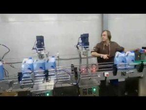 linea automatica di riempimento della candeggina liquida disinfettante detergente per WC