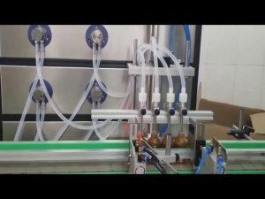 riempitrice cosmetica automatica per bottiglie di liquidi da 10 ml 30 ml 60 ml 100 ml