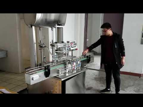 riempitrice cosmetica, riempitrice automatica di sapone liquido in pasta a pistone