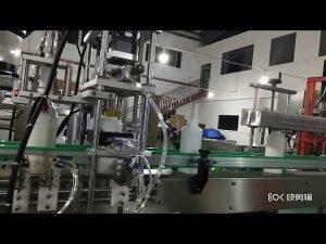 riempitrice di concime liquido aminoacido