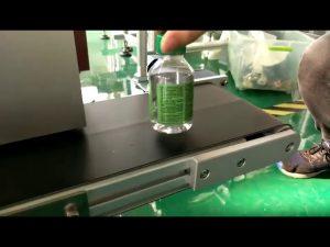 etichettatrice da tavolo per bottiglie d'acqua in plastica