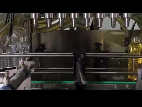 olio da cucina automatico, tappatrice di riempimento olio di palma