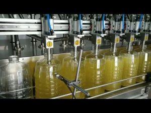riempitrice olio lubrificante pompa peristaltica automatica