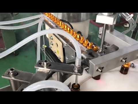 tappatrice automatica per il riempimento di liquido con flacone per il flacone di collirio e contagocce in vetro da 5-30 ml
