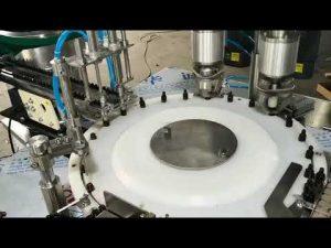tappatrice riempitrice automatica di olio essenziale per piccoli volumi