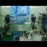 Riempitrice e avvitatrice a doppio binario da 30 ml a 100 ml per bottiglia rotonda