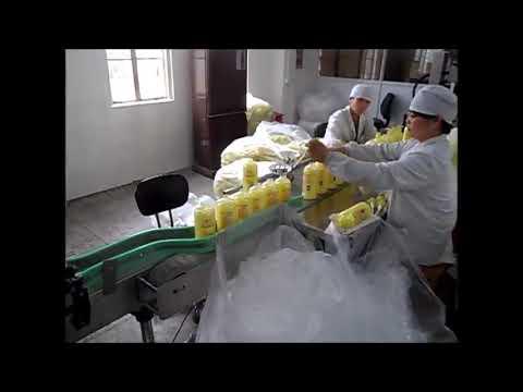 riempitrice automatica disinfettante per mani a base di sapone liquido a pistone