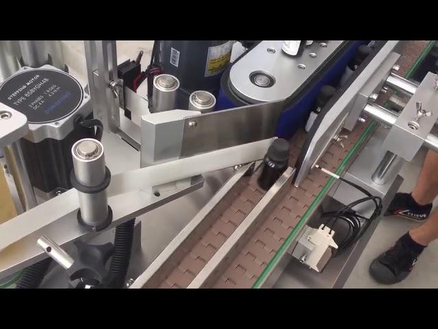 Etichettatrice per adesivi flaconi verticali automatici da 3000 bph