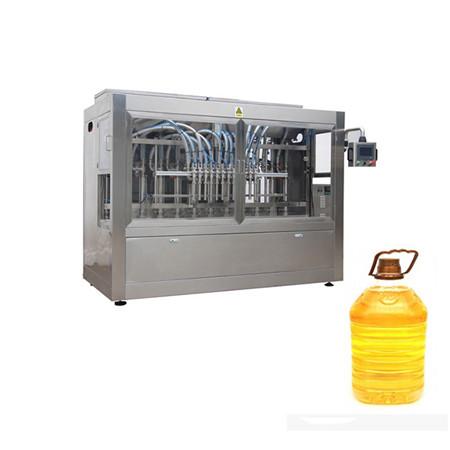 riempitivo olio commestibile automatico