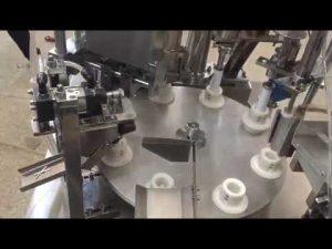 pasta automatica in plastica morbida, unguento, dentifricio, riempitrice per tubi