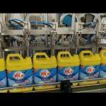 Riempitrice automatica per bottiglie di shampoo detergente per bucato a 8 teste
