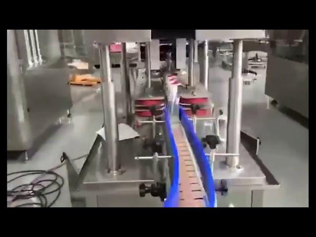 riempitrice automatica per il riempimento del pistone disinfettante per le mani con gel disinfettante per le mani