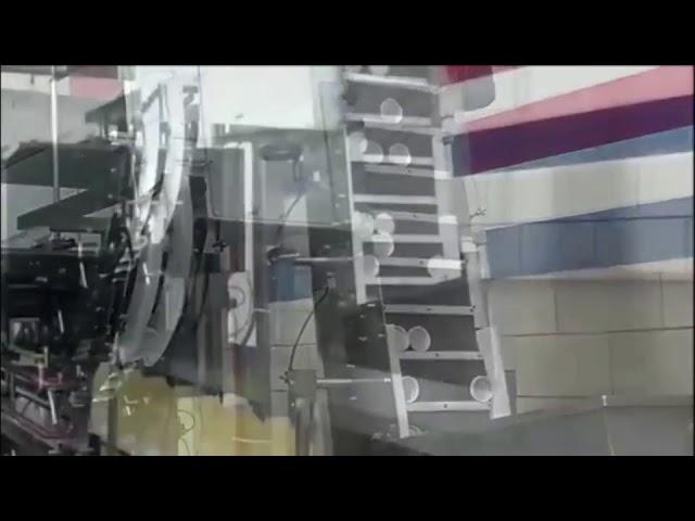 riempitrice automatica di olio vegetale per olio da cucina, riempitrice a pistoni con azionamento a cilindro