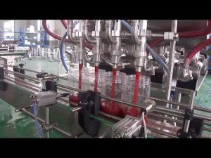 riempitrice automatica per bottiglie di olio di palma