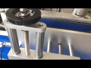 etichettatrice automatica per bottiglie rotonde con etichetta adesiva a doppia faccia