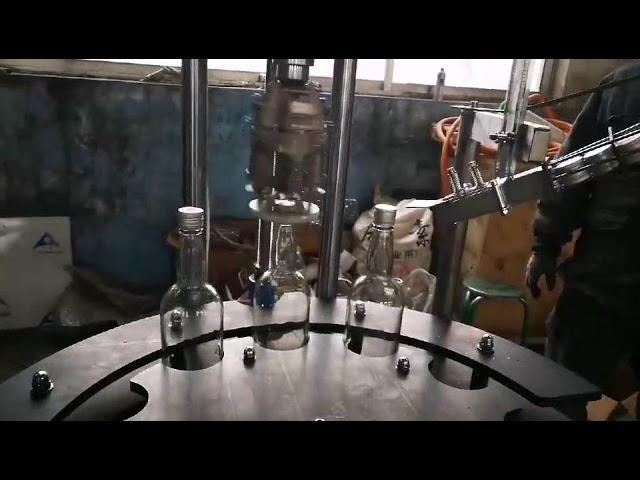 tappatrice e sigillatrice commerciali automatiche in alluminio ropp cap