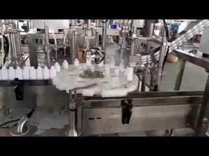 tappatrice di riempimento di plastica medica della bottiglia dei cosmetici