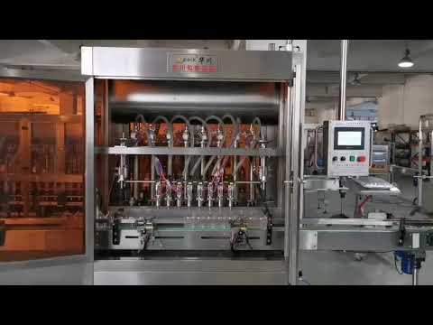 servo riempitrice automatica completa di salsa di pomodoro