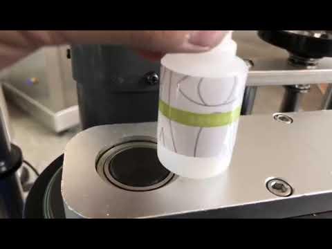 etichettatrice per piccoli adesivi automatici rotondi per desktop