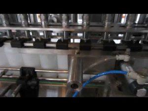 riempitrice automatica di liquidi detergenti e disinfettanti