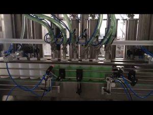 riempitrice di bottiglie di sapone liquido a pistone