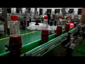 imbottigliatrice automatica completa ad alta velocità per ketchup, marmellata, salsa