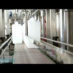 etichettatrice per tappatura di riempimento olio lubrificante completamente automatica