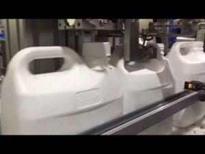riempitrice automatica per liquidi e crema a 4 ugelli