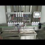 riempitrice automatica di bottiglie di pasta liquida viscosa per sapone liquido, lozione per il corpo, shampoo