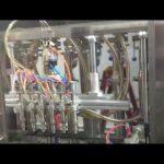 riempitrice automatica di olio d'oliva per bottiglie di vetro