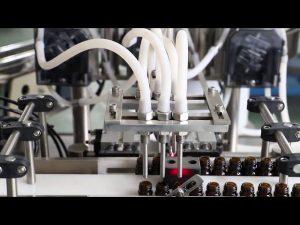Riempitrice e tappatrice per lavaggio olio d'oliva 120ml