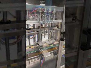 riempitrice automatica di bottiglie di profumo, riempitrice liquida con prezzo