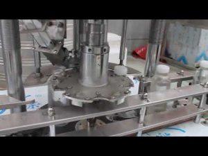 tappatrice rotativa automatica a bottiglia singola in plastica
