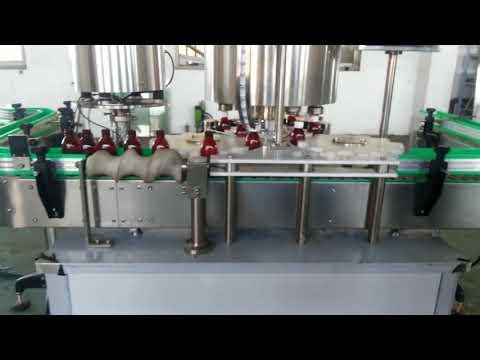 tappatrice per coperchio in alluminio completamente automatica