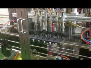 riempitrice automatica per riempimento olio d'oliva a pistoni con controllo plc