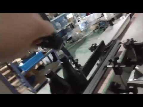tappatrice ropp automatica in linea con tappo in alluminio per bottiglia di vetro